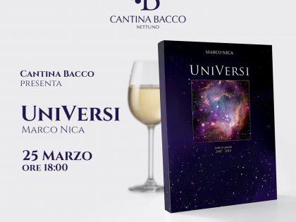 UniVersi: il nuovo libro di Marco Nica da Cantina Bacco
